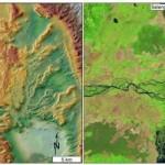 Il fiume che sfocia nell'oceano di Marte