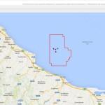 Abruzzo: tre nuovi pozzi petroliferi a 18 chilometri dalla costa