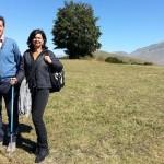 Presidente Boldrini in visita al Parco dei Monti Sibillini
