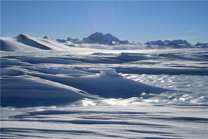 L'Antartide (crediti: Newcastle University)