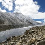 Lo scioglimento dei ghiacciai provoca inondazioni dei pascoli in Tibet