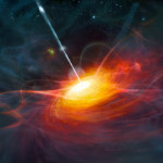 Distant quasars to fill a loophole of Bell's theorem