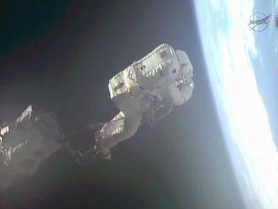 Crediti: NASA TV