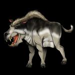 L'Entelodonte, uno spaventoso antenato dei maiali