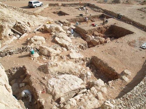 Sito archeologico di Jebel Faya  [Immagini © Science/AAAS]