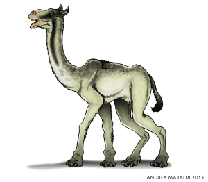 Aepycamelus: il cammello allungato