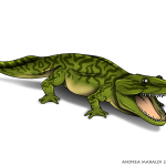 Metoposauro, la salamandra-coccodrillo