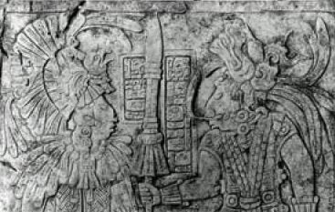 Esempi di monumenti con incisioni e geroglifici studiati dalla ricercatrice Sarah Jackson, della Cincinnati University (foto: Cincinnati University)