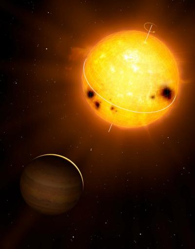 Crediti: Image courtesy of MPI for Solar System Research/Mark A. Garlick.