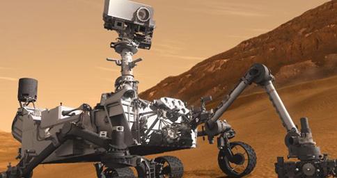 Curiosity verso Marte