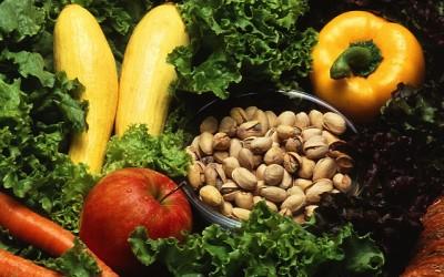 antiossidanti e verdure