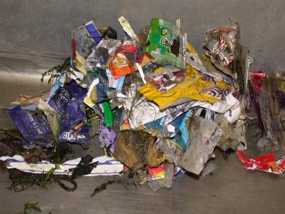 Plastica nel Tamigi