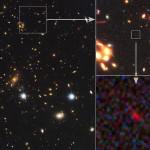 Spitzer e Hubble osservano la galassia più antica di sempre