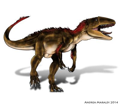 Sinraptor dinosauro