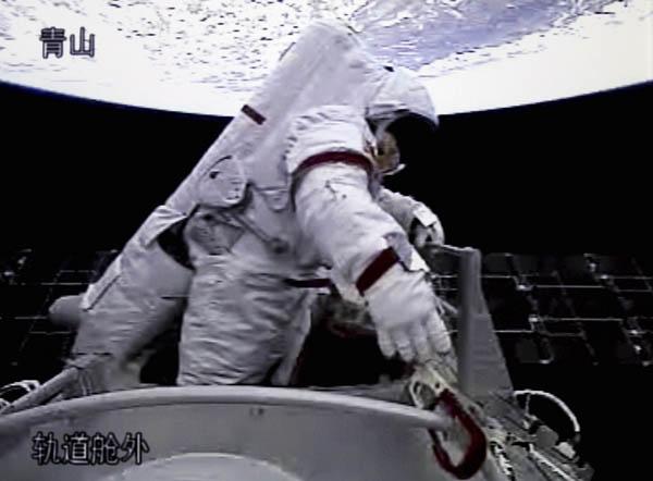 Prima passeggiata spaziale per la Cina