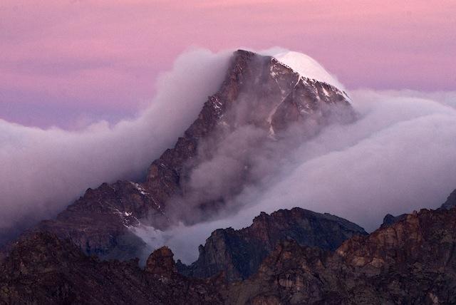 Ciarforon all'alba (Parco nazionale Gran Paradiso)- Luca Fassio