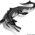 Metriorinco, il coccodrillo marino del Giurassico