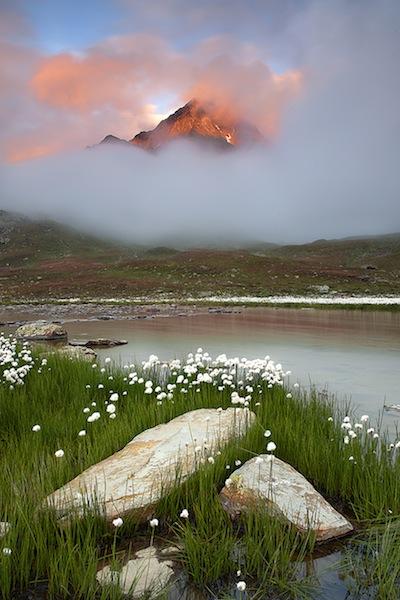Foggy sunset (Parco nazionale dello Stelvio) - Matteo Berbenni