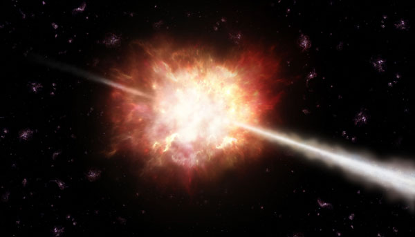 Lampo di raggi gamma (Gamma Ray Burst)