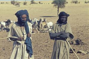 Tuareg in Mali, 1974
