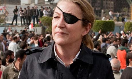 Marie Colvin, uccisa ad Homs