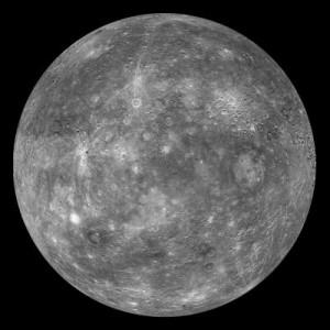 Mercurio fotografato dalla sonda MESSENGER