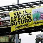 Greenpeace arriva a La Spezia contro le centrali a carbone