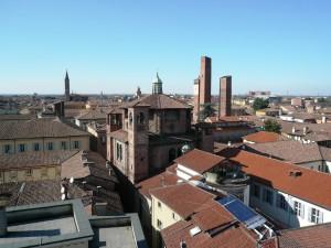 Palazzo Mezzabarba panorama dalla torre