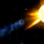 Cometa ISON: catturata immagine del suo passaggio vicino a Marte