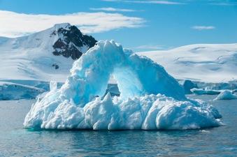Antartide come la California