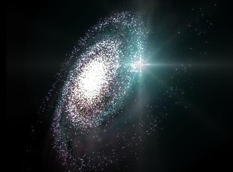 Supernova in una galassia