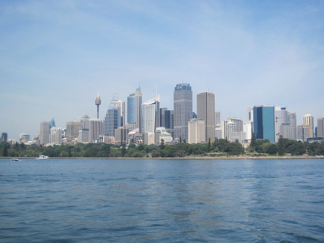 Australia_Sidney_Città