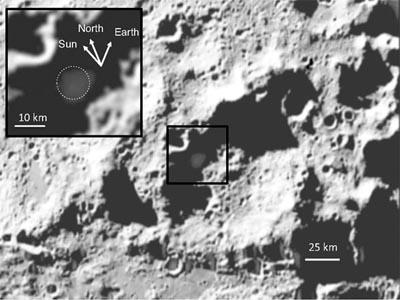 Acqua sulla Luna - fonte NASA