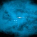 Chandra osserva un alone di gas caldissimo intorno alla nostra Via Lattea