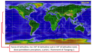 Il rientro della stazione spaziale cinese Tiangong-1, risposte del Cnr