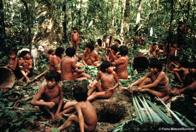 Yanomami. Foto: Survival international