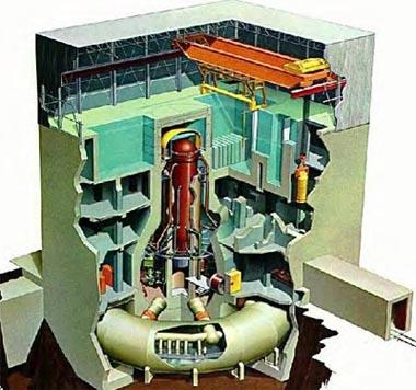 Modello BWR (Boiled water reactor) presente nella centrale di Fukushima