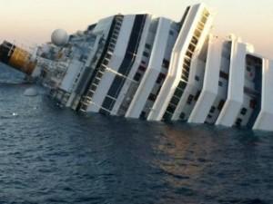 Costa Concordia naufragata