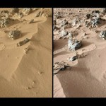 Curiosity: polvere marziana simile al materiale vulcanico delle Hawaii
