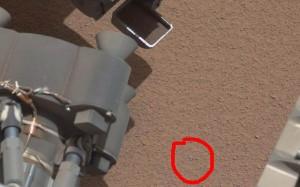 Curiosity, è un rottame del rover l'oggetto brillante