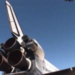 Shuttle Endevour, ultimo viaggio per le strade di Los Angeles