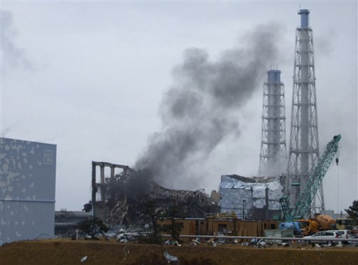 Impianto nucleare danneggiato presso Fukushima, Giappone. Crediti: Tepco