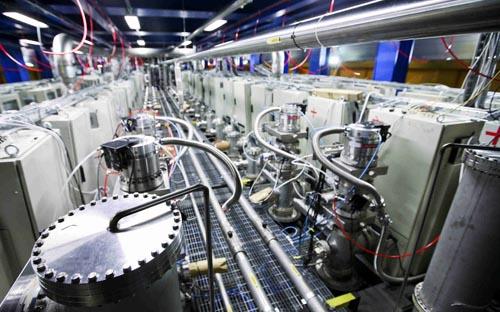 Esperimento ICARUS nel laboratori del Gran Sasso. Crediti: Infn