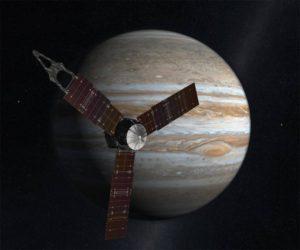 Sonda Juno della NASA entra nell'orbita di Giove