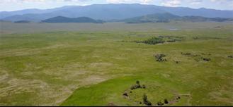 Veduta del kurgan Arzhan 0(crediti: Swiss National Science Foundation, SNSF)
