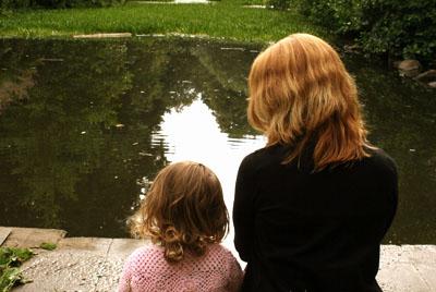 Genitori single e bambini felici
