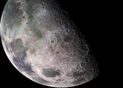 La Luna. Immagine dagli archivi del Goddard Space Flight Center della NASA