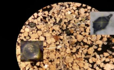 microtectite-cometa