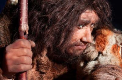 Rappresentazione artistica di un esemplare di Homo neandertalensis