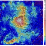 Marte, scoperte nevicate di anidride carbonica al polo sud